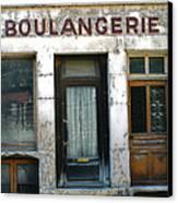 Boulangerie Canvas Print by Georgia Fowler