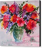 Bouquet Of Wishes Canvas Print by Kimberlee Weisker