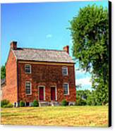 Bowen Plantation House 002 Canvas Print