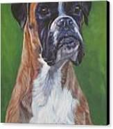 Boxer Canvas Print by Lee Ann Shepard