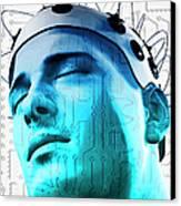 Brain Circuit Canvas Print by MedicalRF.com
