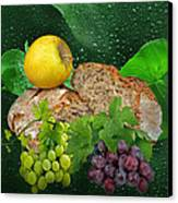 Bread Canvas Print by Manfred Lutzius