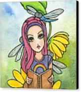 Brianna's Dragonflies Canvas Print