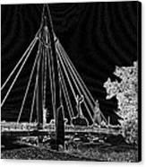 Bridge Electrified Canvas Print by David Alvarez