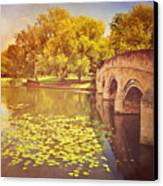 Bridge Over River Canvas Print by Photo - Lyn Randle