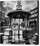 Bridgeton Cross Bandstand Glasgow Canvas Print by John Farnan