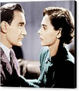 Brief Encounter, From Left Trevor Canvas Print