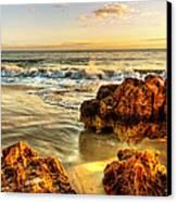 Brighton Beach Wa Canvas Print by Imagevixen Photography