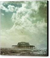 Brighton Seascape Canvas Print by Paul Grand
