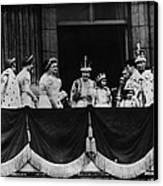 British Royal Family. From Center, L-r Canvas Print by Everett