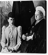 British Royal Family. Mary, Duchess Canvas Print