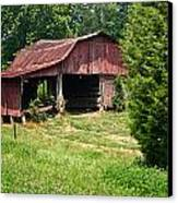 Broad Roofed Barn Canvas Print by Douglas Barnett