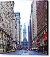 Broad Street Avenue Of The Arts Canvas Print