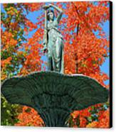 Broadway Fountain I Canvas Print