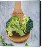 Broccoli Canvas Print by Sabino Parente