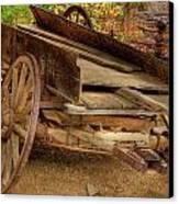 Broke Spoke I Canvas Print by Charles Warren