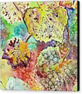 Broken Leaf Canvas Print by Karen Fleschler