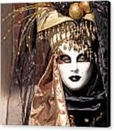 Bronce Mask Canvas Print