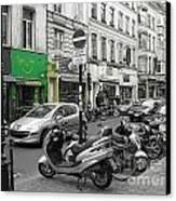 Bruxelles Street Canvas Print