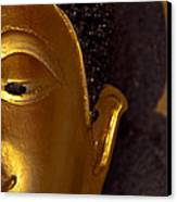 Buddha's Face Canvas Print
