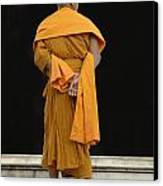 Buddhist Monk 1 Canvas Print by Bob Christopher