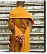 Buddhist Monk 2 Canvas Print