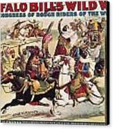 Buffalo Bill: Poster, 1899 Canvas Print