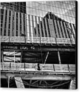 Building The American Dream Canvas Print by John Farnan