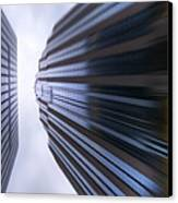 Buildings Abstract Canvas Print