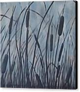 Bullrush Blues Canvas Print