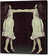 Burlesque Twins Canvas Print by Tove Jessica Frank