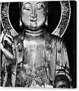 Burning Incense In A Buddhist Temple Sha Tin Hong Kong China Canvas Print