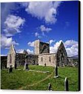 Burrishoole Friary, Co Mayo, Ireland Canvas Print by The Irish Image Collection