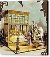 Butter Trade Card, C1880 Canvas Print by Granger