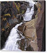Buttermilk Falls Canvas Print by Glen Heberling