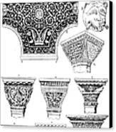 Byzantine Ornament Canvas Print
