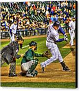 Cabrera Grand Slam Canvas Print by Nicholas  Grunas