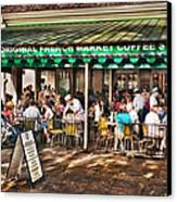 Cafe Du Monde Canvas Print by Brenda Bryant