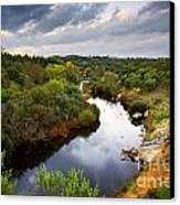 Calm River Canvas Print by Carlos Caetano