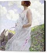 Calypso Canvas Print by George Hitchcock