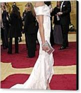 Cameron Diaz Wearing Valentino Couture Canvas Print