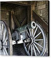 Cannon Storage Canvas Print by Peter Chilelli