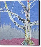 Canoe Lake Cemetery Canvas Print