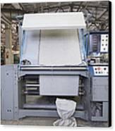 Canvas Trimming Machine Canvas Print