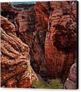 Canyon Glow Canvas Print by Rick Berk