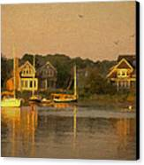 Cape Cod Evening Canvas Print by Michael Petrizzo