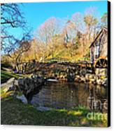 Cape Cod Grist Mill Canvas Print