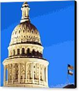 Capitol Dome Color 16 Canvas Print