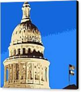 Capitol Dome Color 6 Canvas Print by Scott Kelley