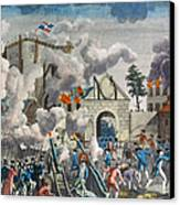 Capture Of Bastille, 1789 Canvas Print by Granger